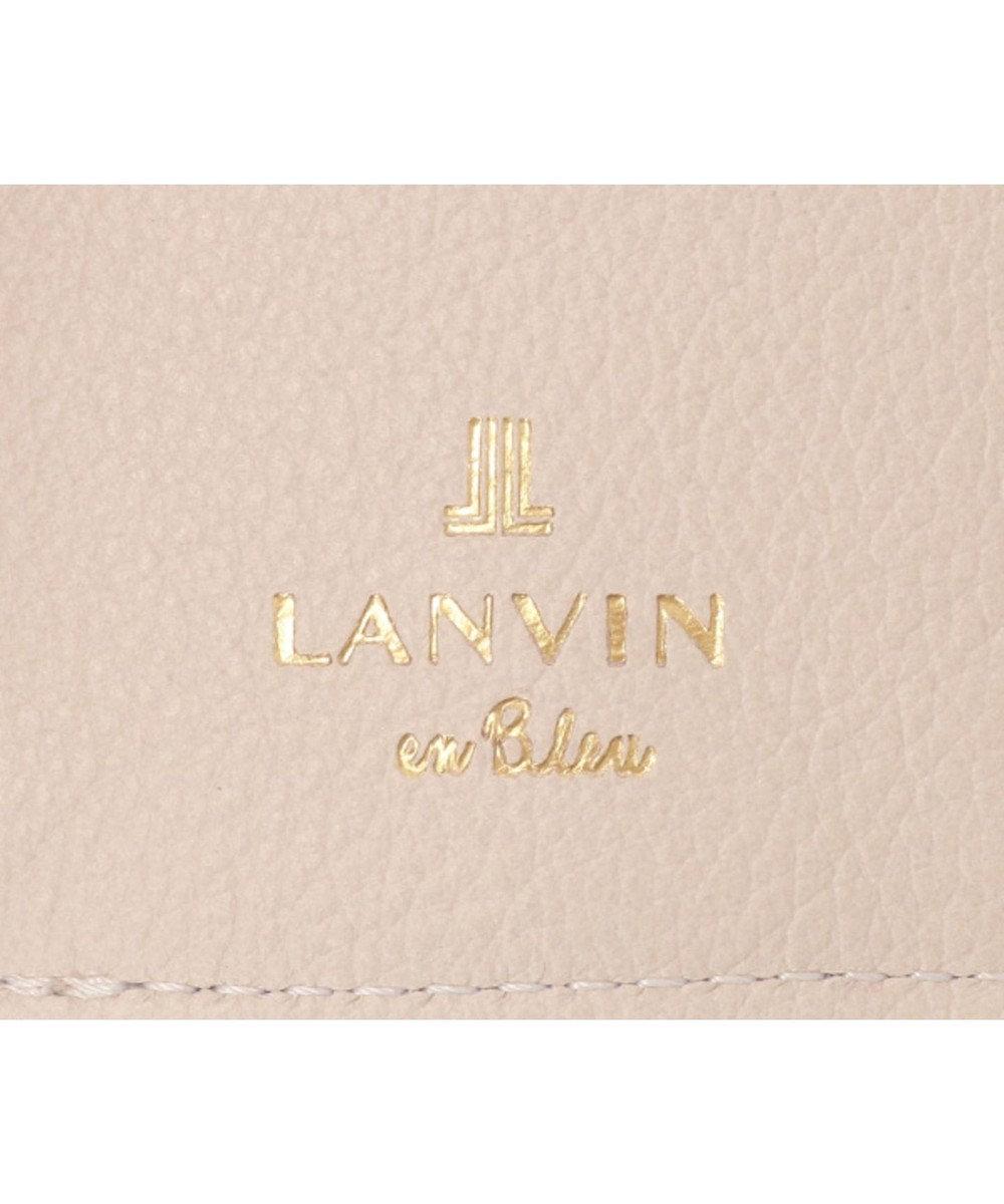 LANVIN en Bleu LANVIN en Bleu ランバンオンブルー ロシェ 三つ折り財布 ベビーピンク