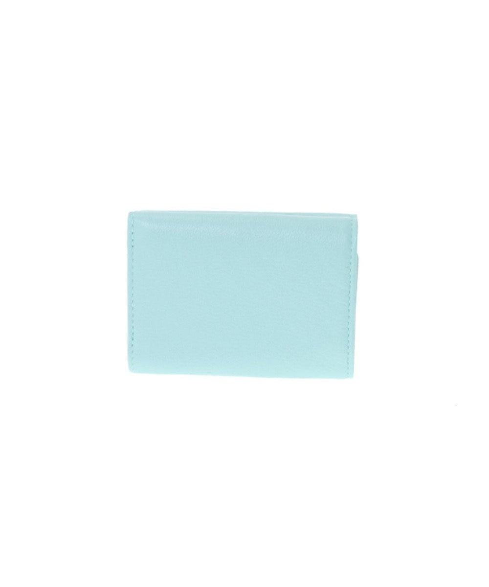 LANVIN en Bleu LANVIN en Bleu ランバンオンブルー ロシェ 三つ折り財布 ブルーグリーン