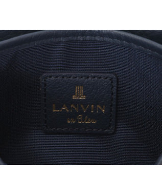 LANVIN en Bleu LANVIN en Bleu ランバンオンブルー ロシェ 名刺入れ ネイビー