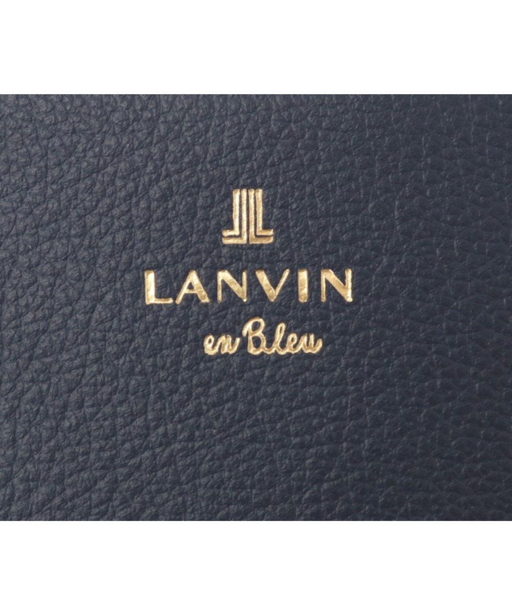 LANVIN en Bleu LANVIN en Bleu ランバンオンブルー ロシェ パスケース ネイビー