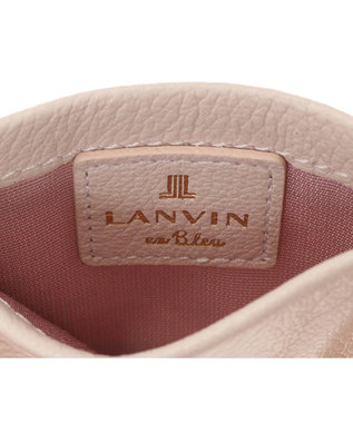 LANVIN en Bleu LANVIN en Bleu ランバンオンブルー ロシェ パスケース ベビーピンク