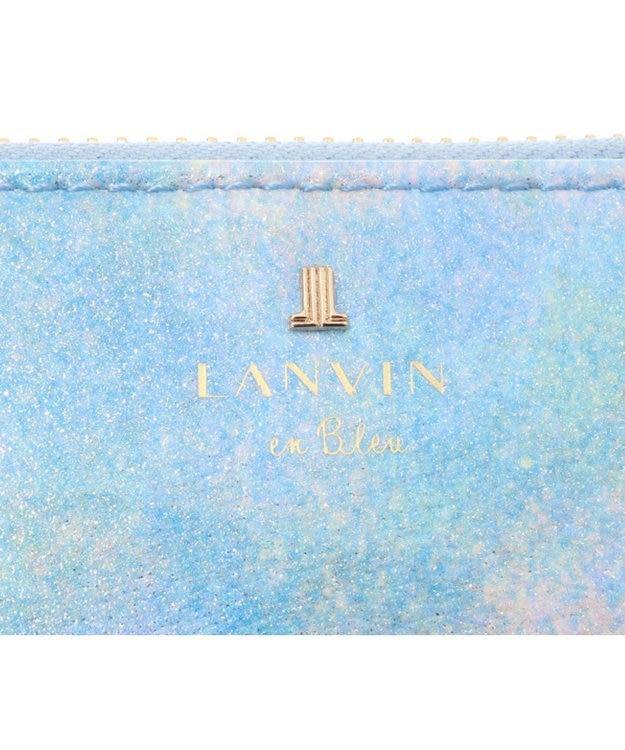 LANVIN en Bleu LANVIN en Bleu ランバンオンブルー ルパン ラウンド長財布