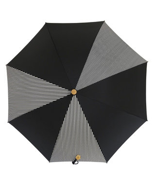 +RING 【プラスリング】【数量限定】晴雨兼用(長ショート) BLK-STP T906 黒