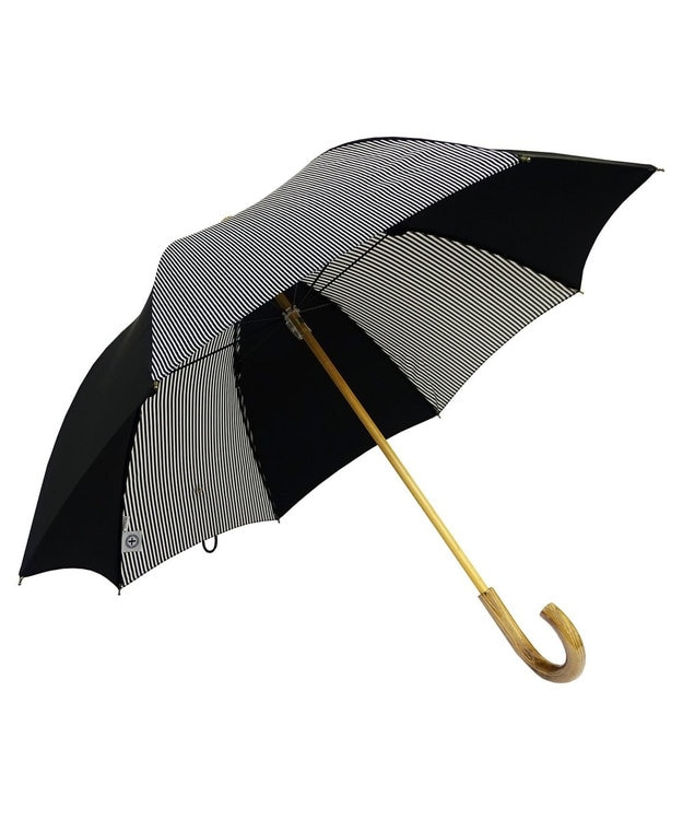 +RING 【プラスリング】【数量限定】晴雨兼用(長ショート) BLK-STP T906
