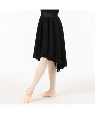 Chacott リハーサルスカート ブラック