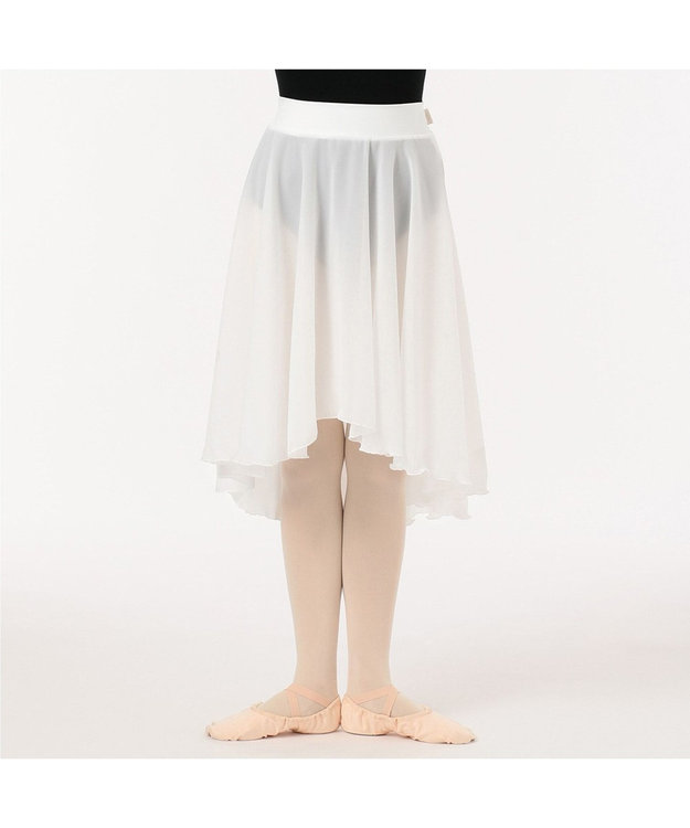 Chacott リハーサルスカート オフホワイト