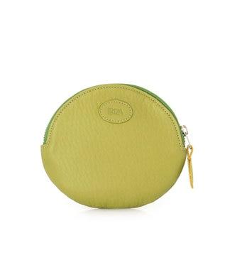 IBIZA デポルテス 牛革 コインケース(テニス) 黄緑