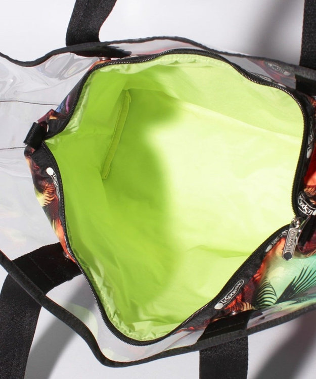 LeSportsac CLEAR 2 IN 1 TOTE/サンディ キーズ
