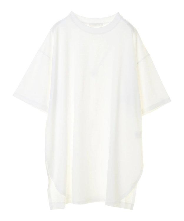 AMERICAN HOLIC 裾ラウンドドロップショルダーカットチュニック