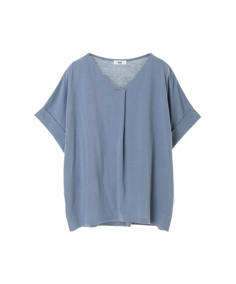 koe スキッパーTシャツ Blue