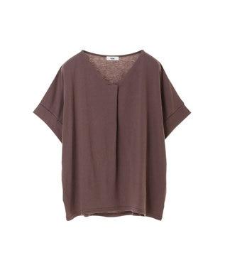 koe スキッパーTシャツ Gray