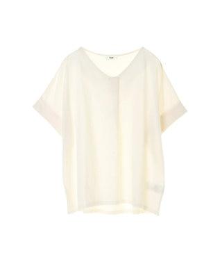 koe スキッパーTシャツ Off White