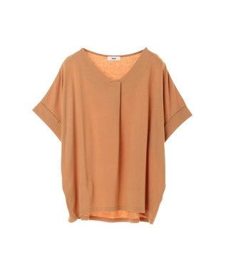 koe スキッパーTシャツ Orange
