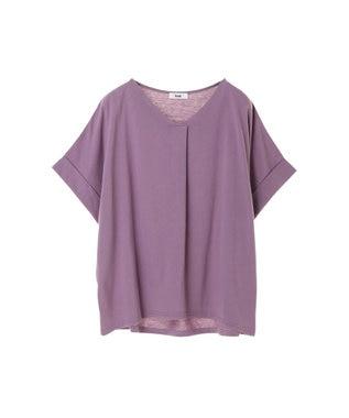 koe スキッパーTシャツ Purple
