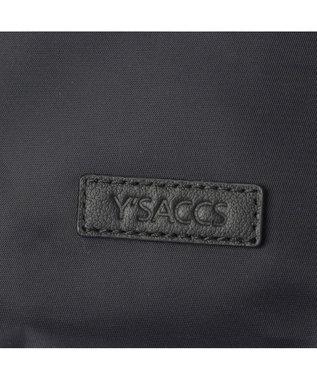 Y'SACCS リサイクルナイロン フロントタック2wayトート Sサイズ ブラック