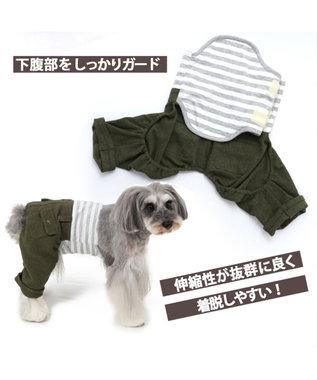 PET PARADISE ペットパラダイス カーキ マナーパンツ〔超小型・小型犬〕 緑