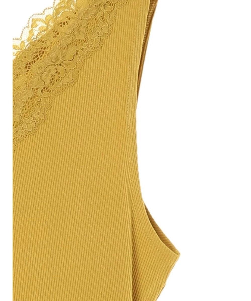 YECCA VECCA ・レースタンクトップ Yellow
