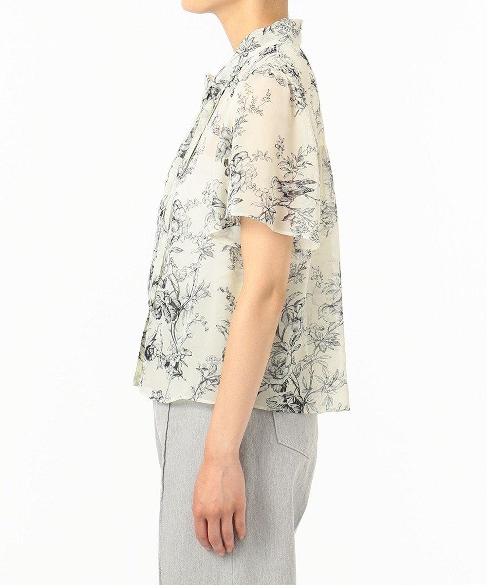 GRACE CONTINENTAL ジュイサラサブラウス キナリ