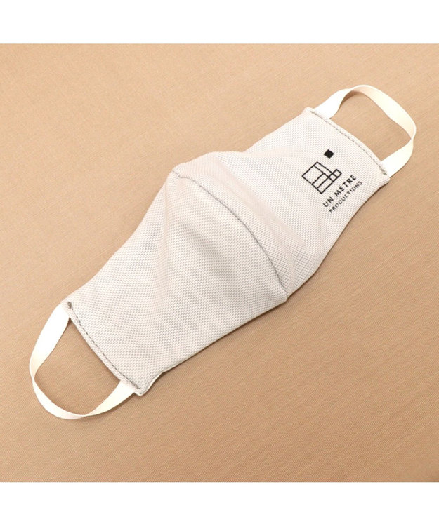 Regalo Felice 【日本製/耳が痛くなりにくい】AG-0005/抗菌防臭クールマスク(マイクロ) LGY(ライトグレー)