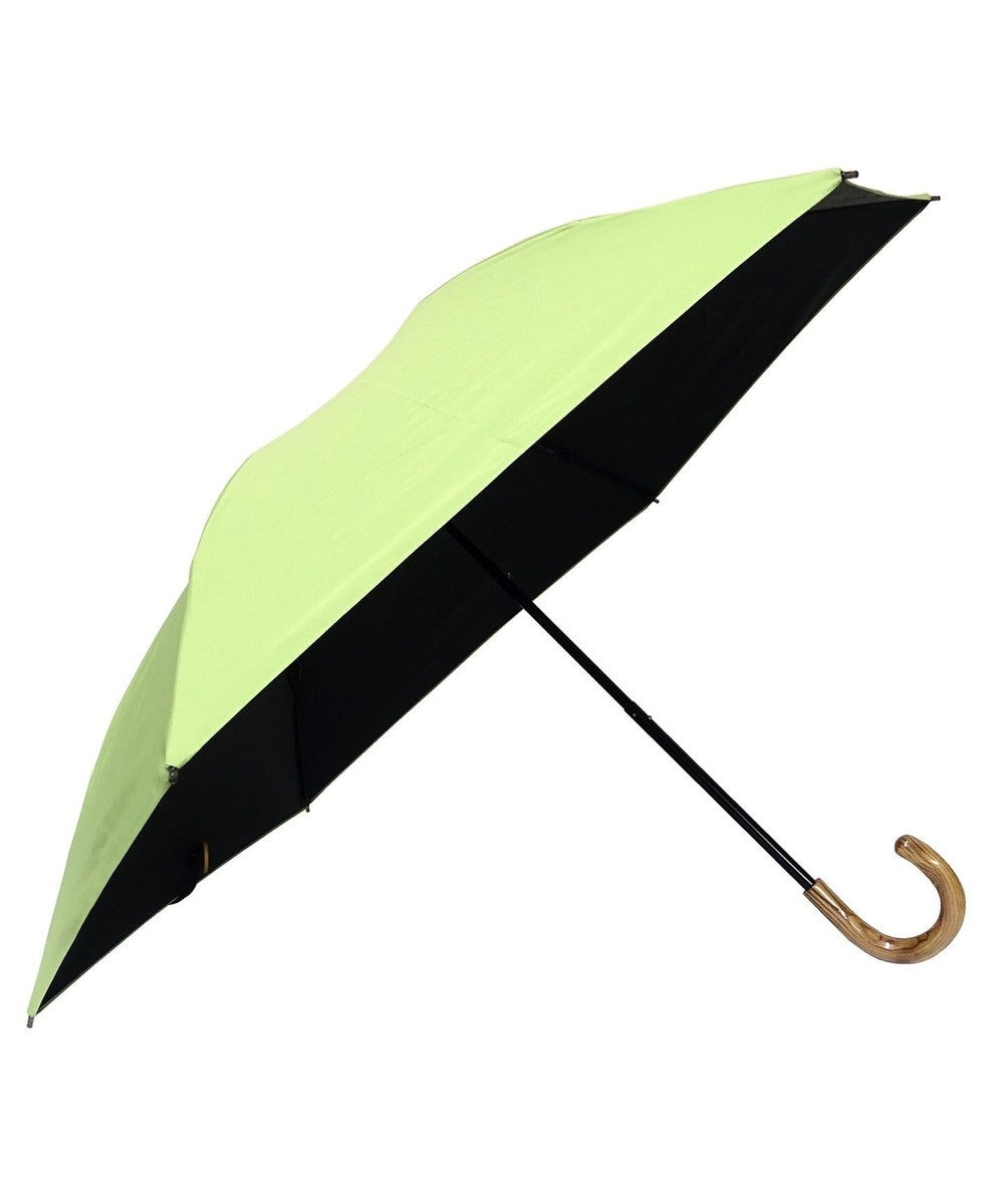 +RING 【プラスリング】【数量限定】レディース向け 晴雨兼用(折傘) 遮光 GRN T830 緑