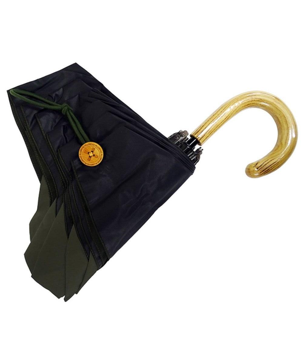 +RING 【プラスリング】【数量限定】レディース向け 晴雨兼用(折傘) 遮光 DRK T831 黒