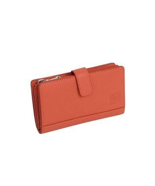MIYABIYA GRES コパン レザーミニウォレット 折財布 オレンジ