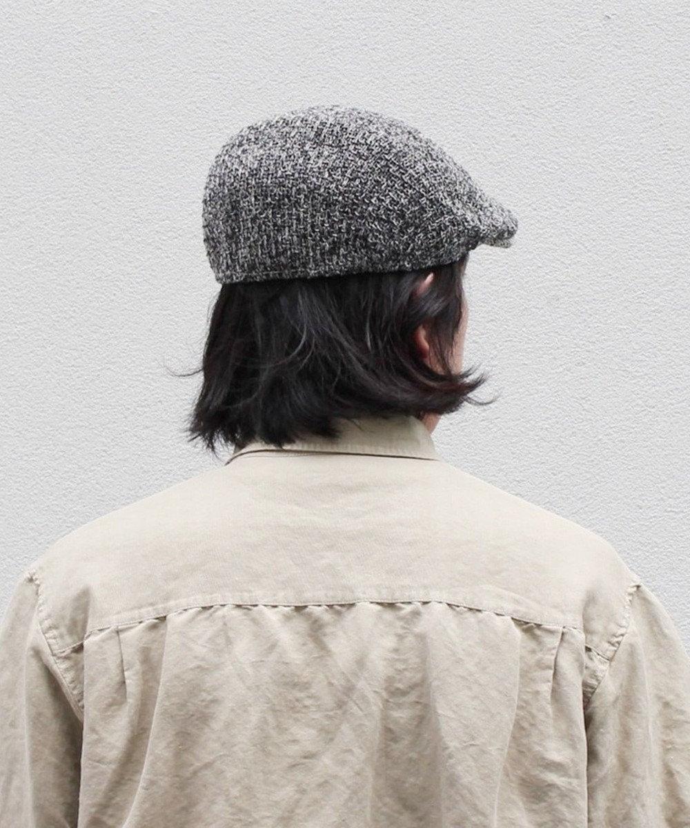 Hat Homes 【CASTANO/カスターノ】ペーパーヤーン ハンチング グレー