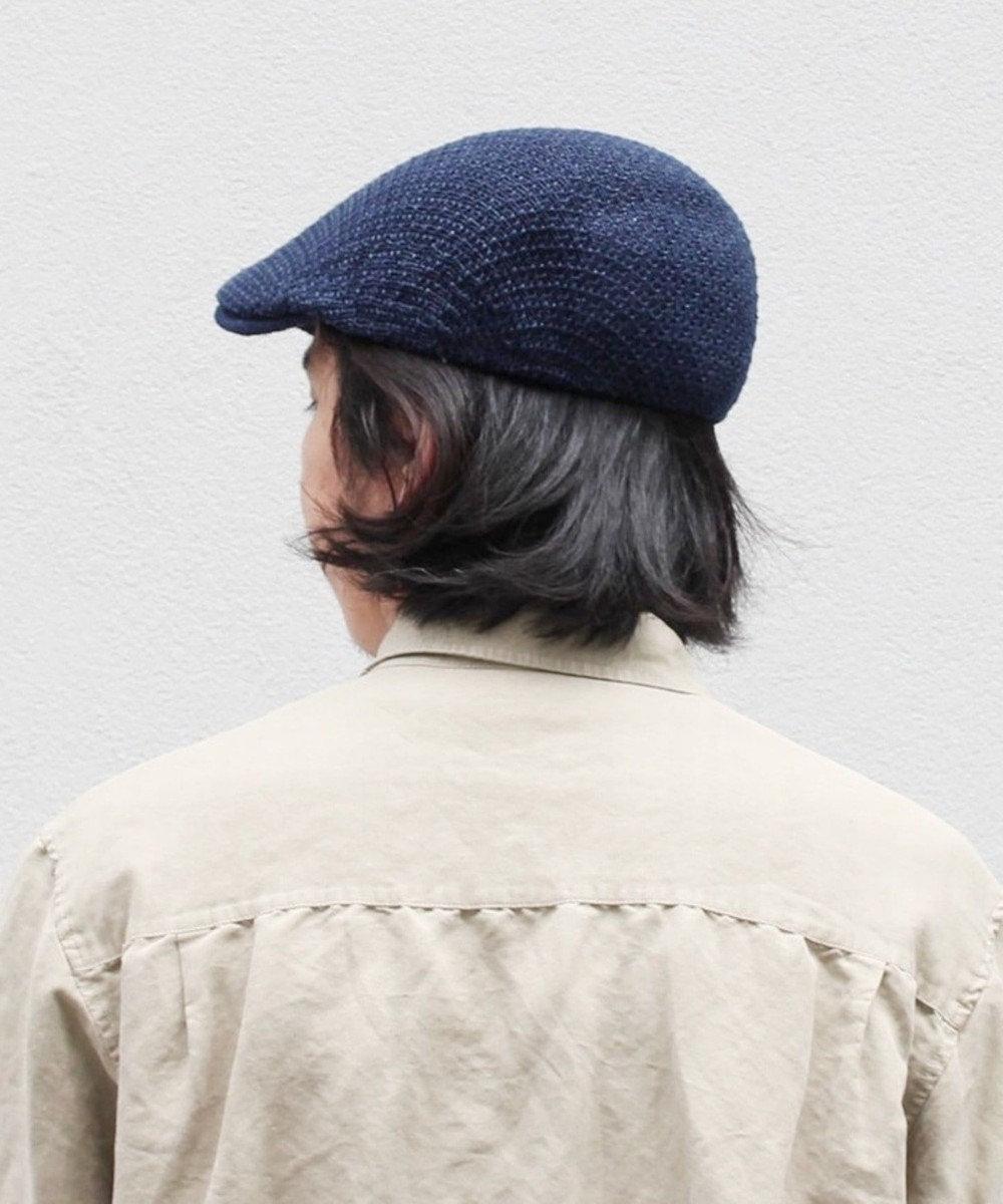 Hat Homes 【CASTANO/カスターノ】ペーパーヤーン ハンチング ネイビー