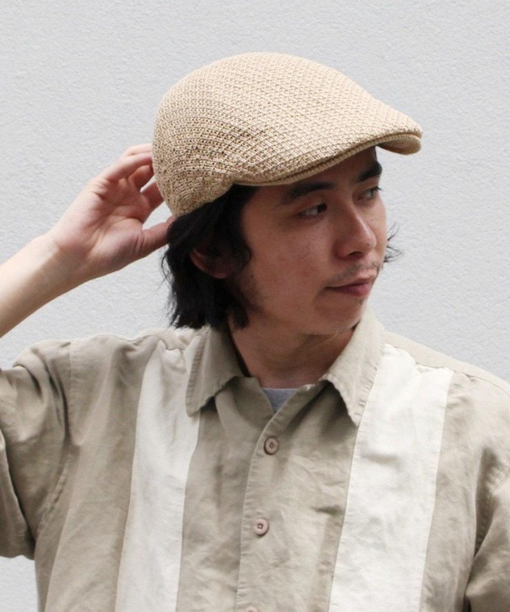 Hat Homes 【CASTANO/カスターノ】ペーパーヤーン ハンチング ベージュ