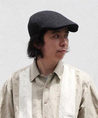 Hat Homes 【CASTANO/カスターノ】ペーパーヤーン ハンチング 黒