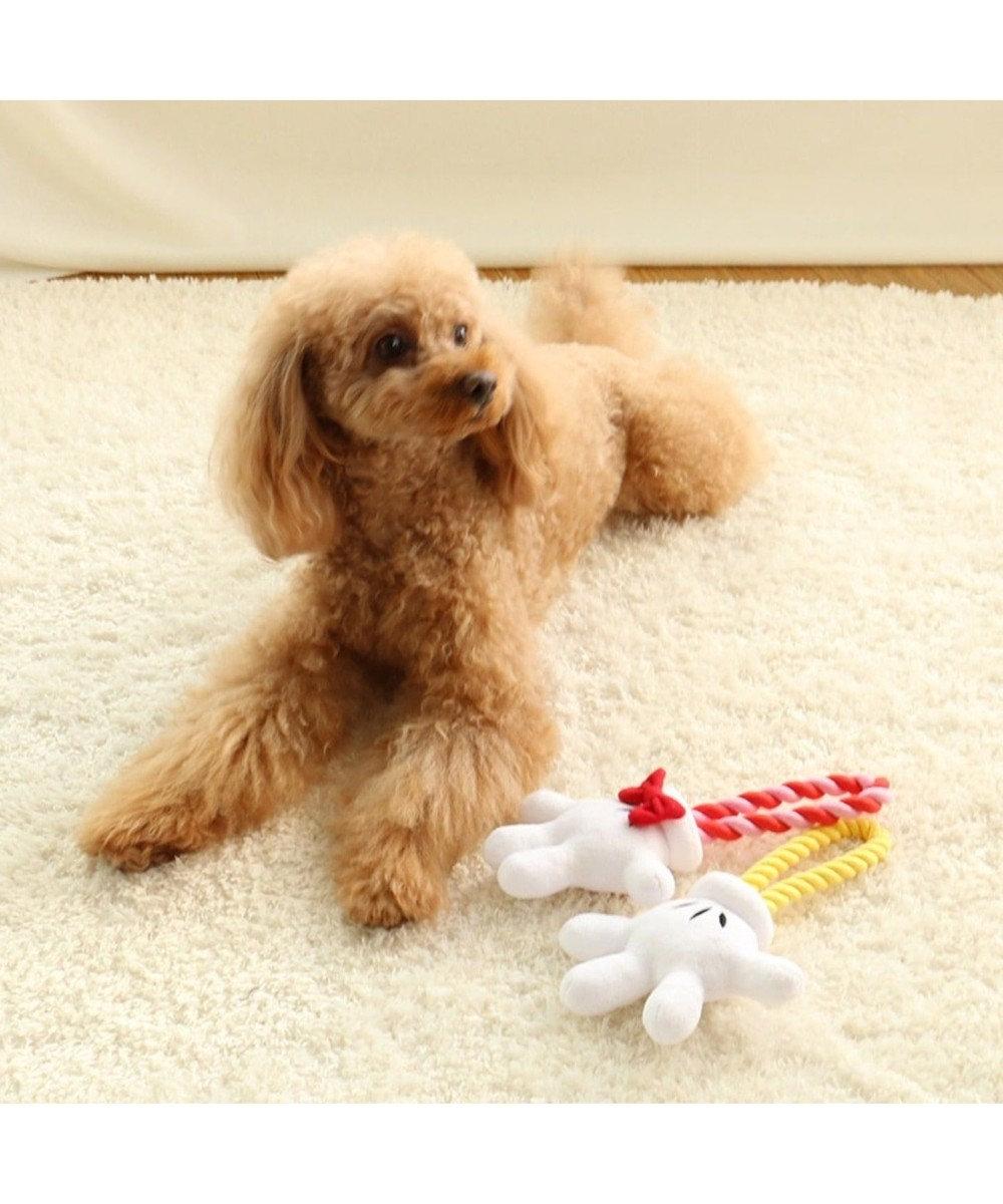 PET PARADISE ペットパラダイス ディズニーミニーマウス 手のロープおもちゃ ピンク(淡)