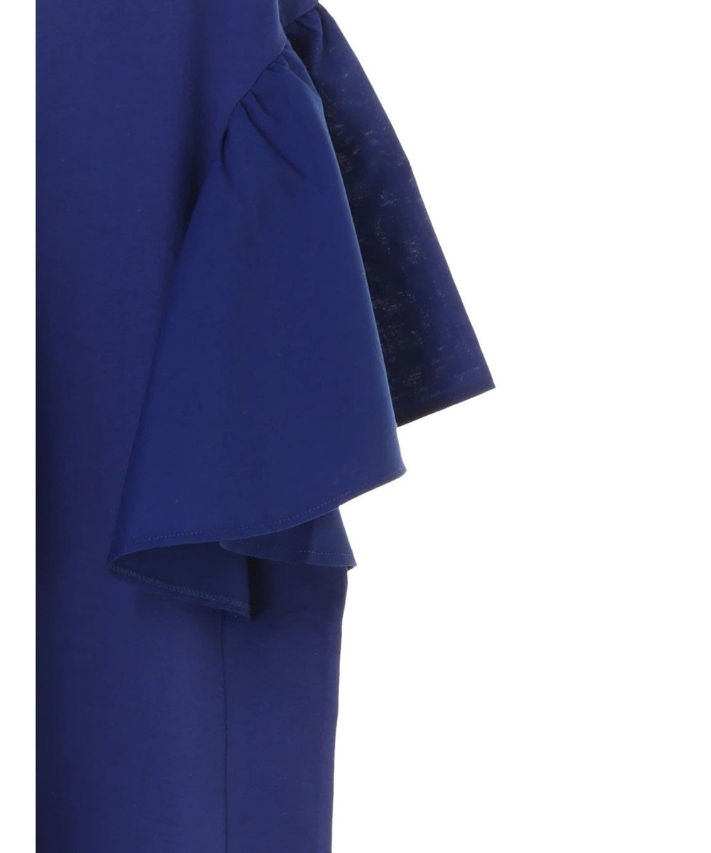 Green Parks 袖布帛カットプルオーバー Blue
