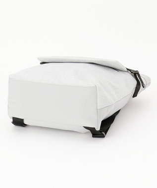SAC 手触りなめらか キラキラ素材 3WAYリュックバッグ  Sactave シルバー
