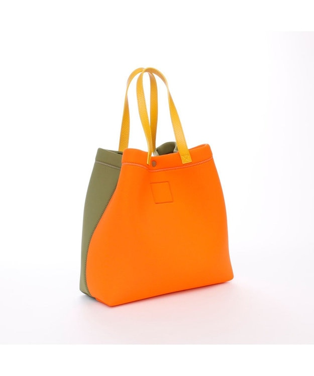 A.D.M.J. TRICOT DOUBLEバイカラー 2WAY TOTE