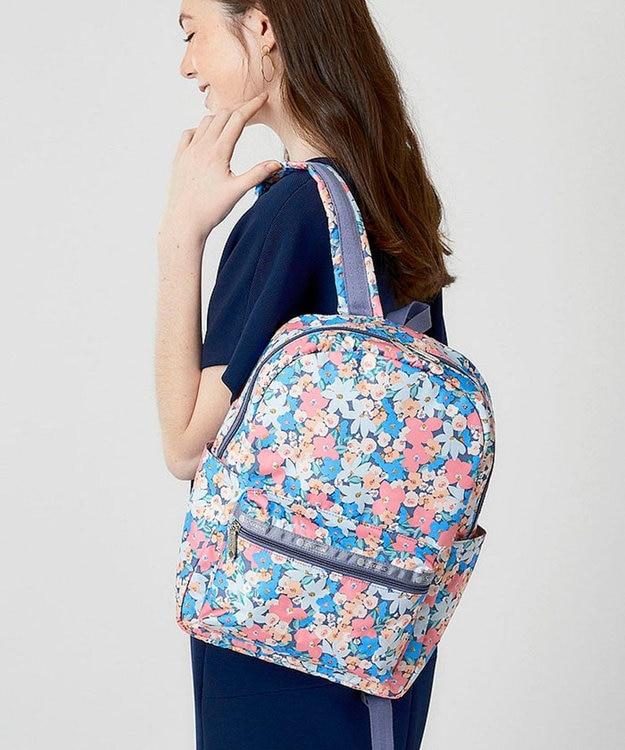 LeSportsac Medium Carson Backpack/サニーアイルフローラル
