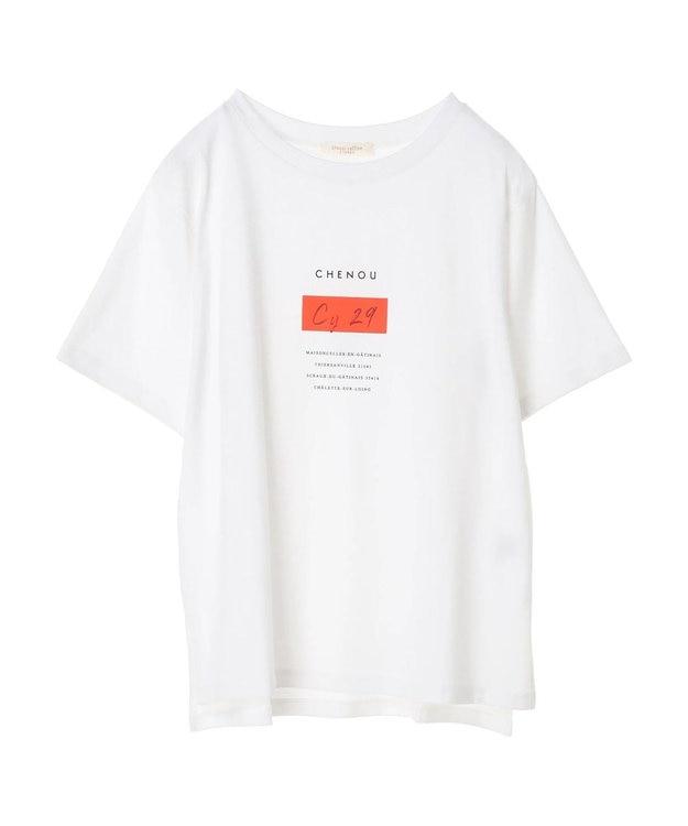 Green Parks ポイントカラープリントTシャツ