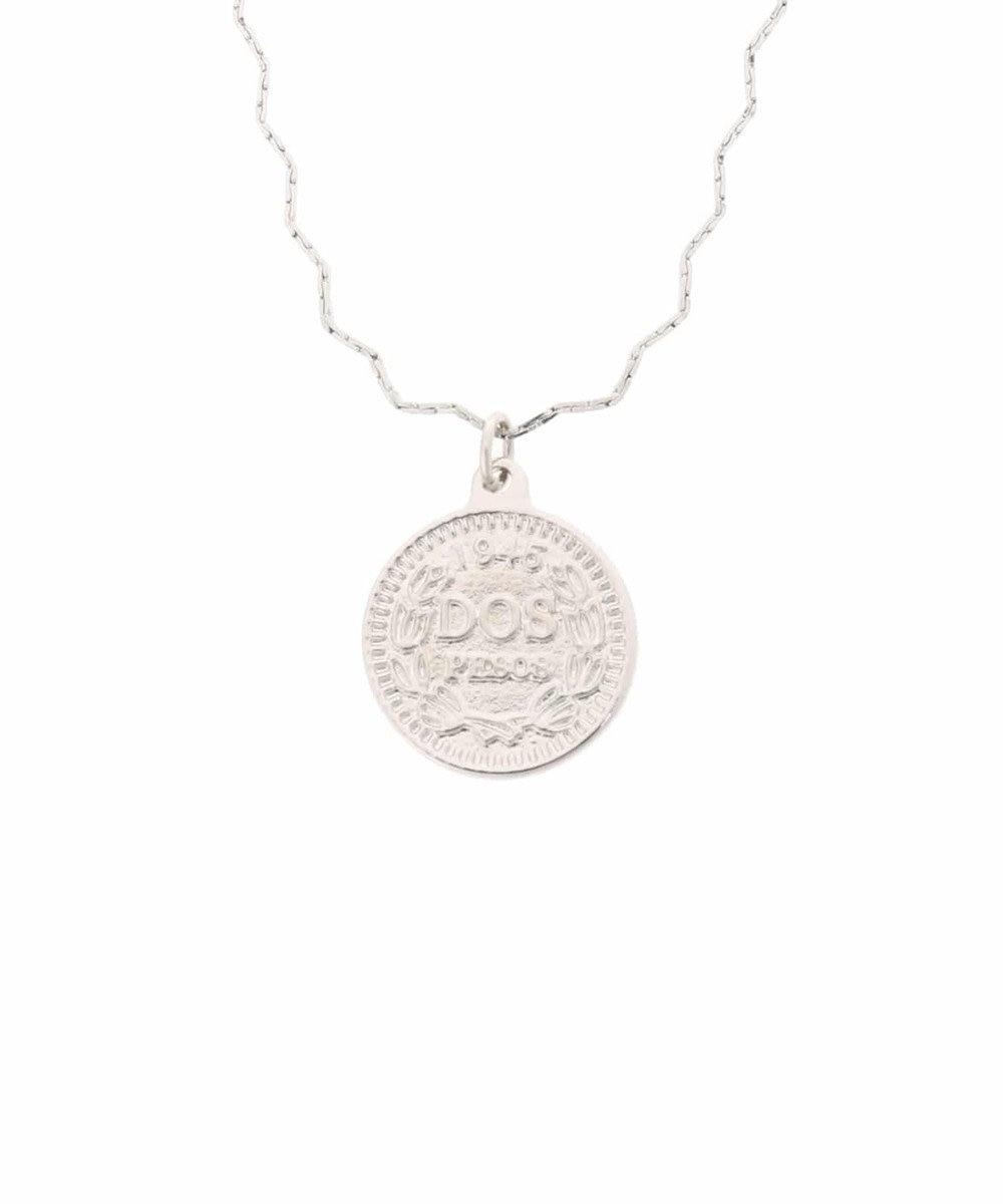 AMERICAN HOLIC コインモチーフナミナミネックレス Silver
