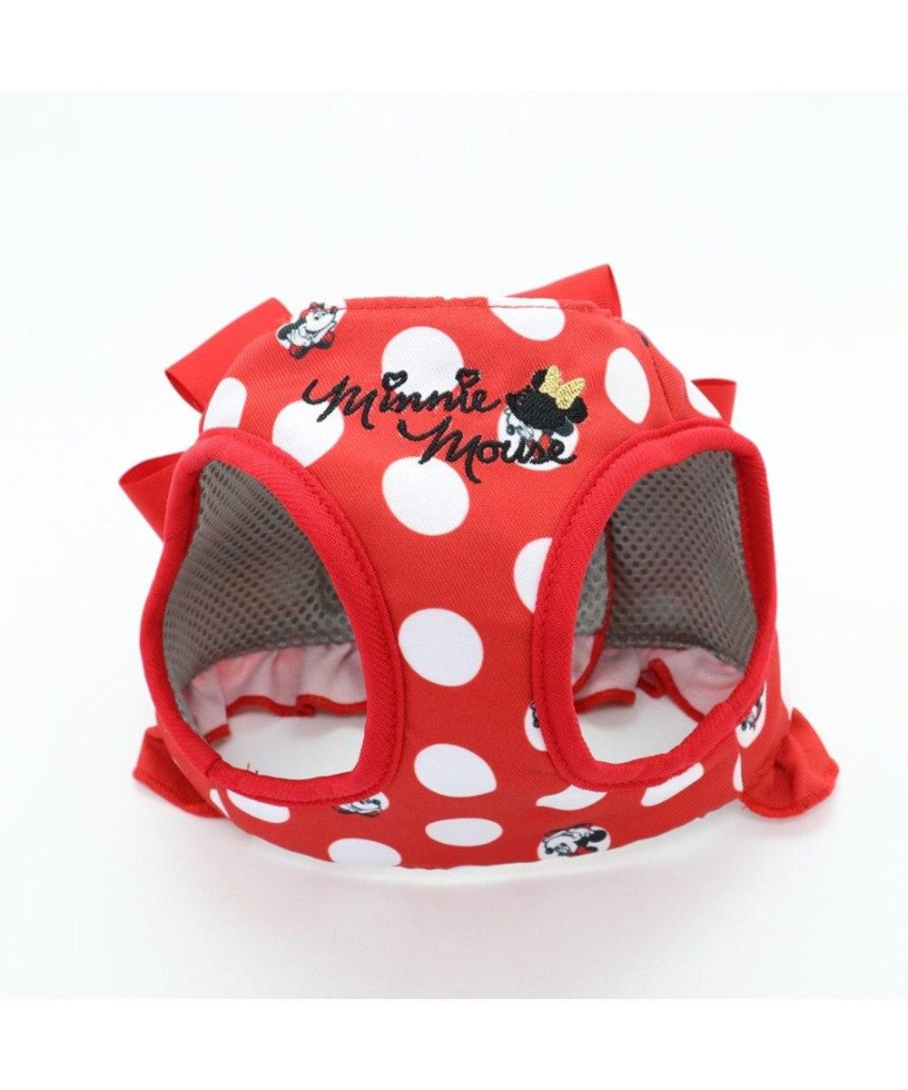 PET PARADISE ディズニー ミニーマウス 水玉ベスト ハーネス 3S 赤