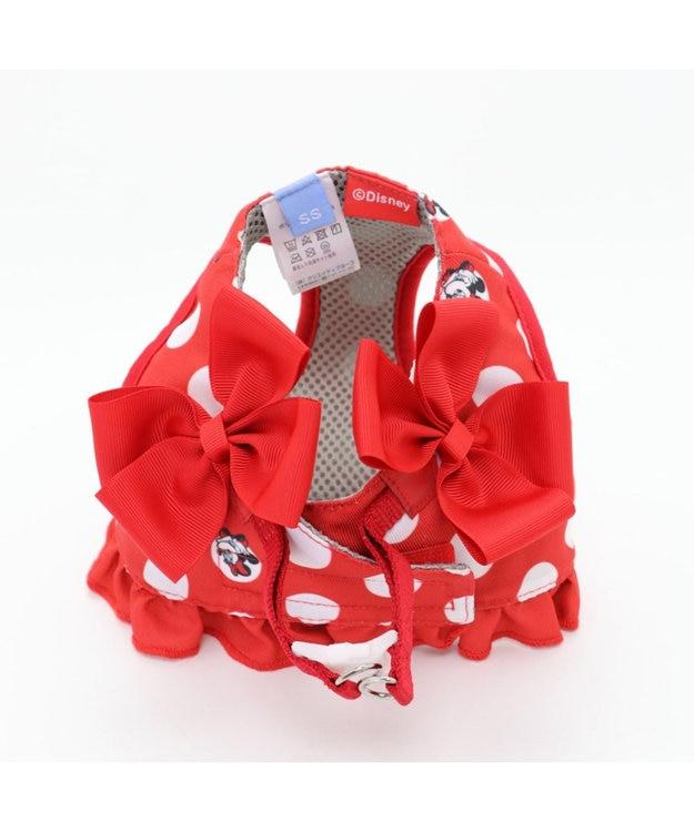 PET PARADISE ディズニー ミニーマウス 水玉ベスト ハーネス S 〔小型犬〕