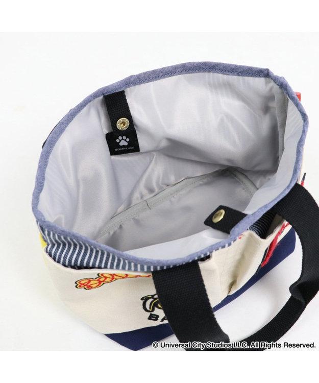 PET PARADISE ミニオン ダンガリー お散歩バッグ(22.5cm×20cm)