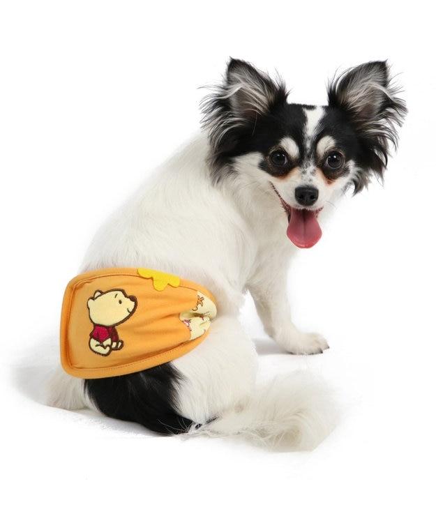 PET PARADISE くまのプーさん ポップ総柄 マナーベルト〔超小型・小型犬〕