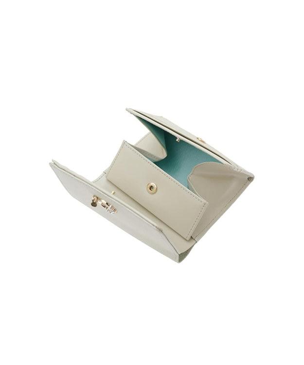 LANVIN en Bleu LANVIN en Bleu ランバンオンブルー ミュゲ BOX二つ折り財布