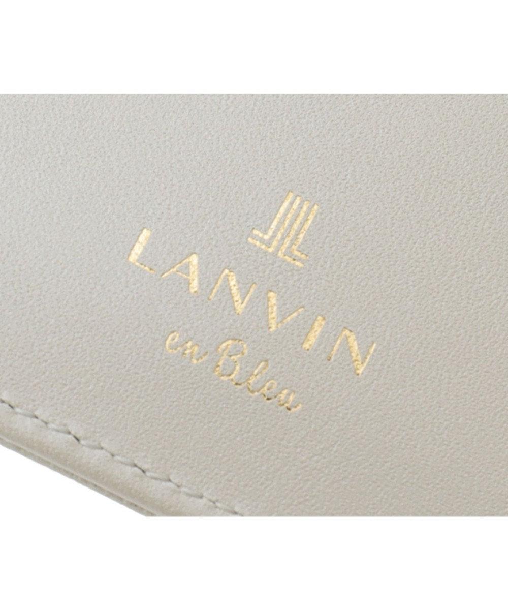LANVIN en Bleu LANVIN en Bleu ランバンオンブルー ミュゲ カードホルダー エクリュ