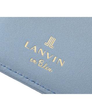 LANVIN en Bleu LANVIN en Bleu ランバンオンブルー ミュゲ カードホルダー ブルーグレー