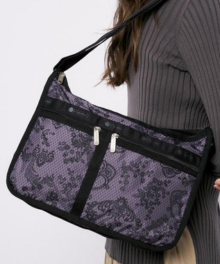 LeSportsac DELUXE EVERYDAY BAG/ラドロー レース ノワール ラドロー レース ノワール