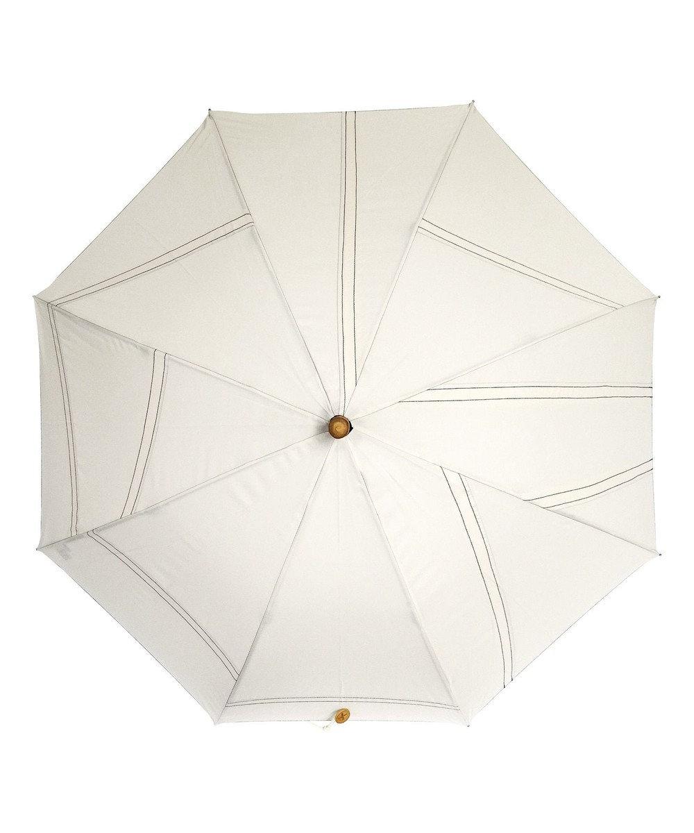 +RING 【限定/日本製】UNISEX 長傘60cm OFF SR284 白~オフホワイト
