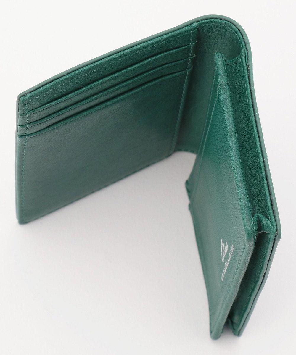 UNBILLION Otias クロムなめし本革名刺入れカードケース ブルー