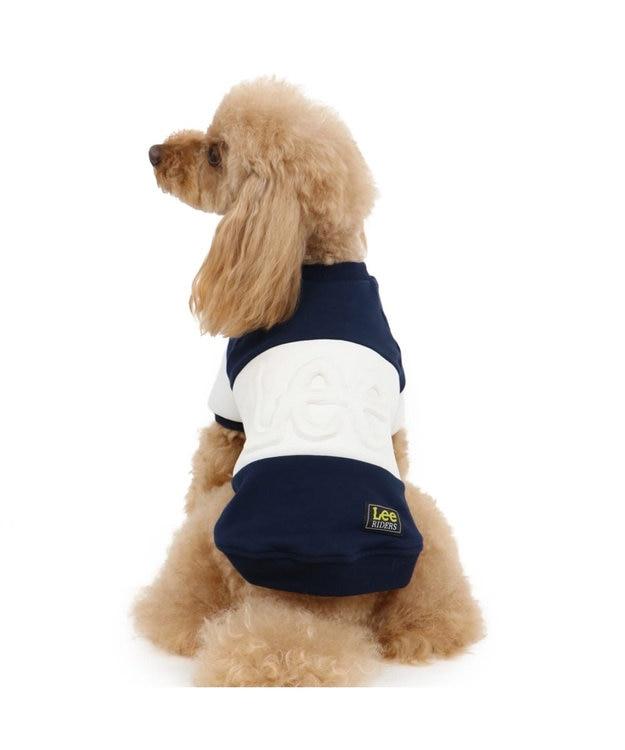 PET PARADISE Lee エンボストレーナー 紺 〔超小型犬・小型犬〕