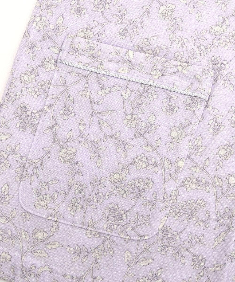 Wing 【パジャマ】水玉と花柄 ロング袖・ロングパンツ ウイング/ワコール EP5082 ピンク