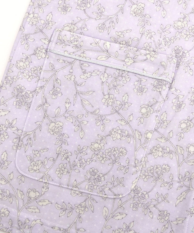 Wing 【パジャマ】水玉と花柄 ロング袖・ロングパンツ ウイング/ワコール EP5082